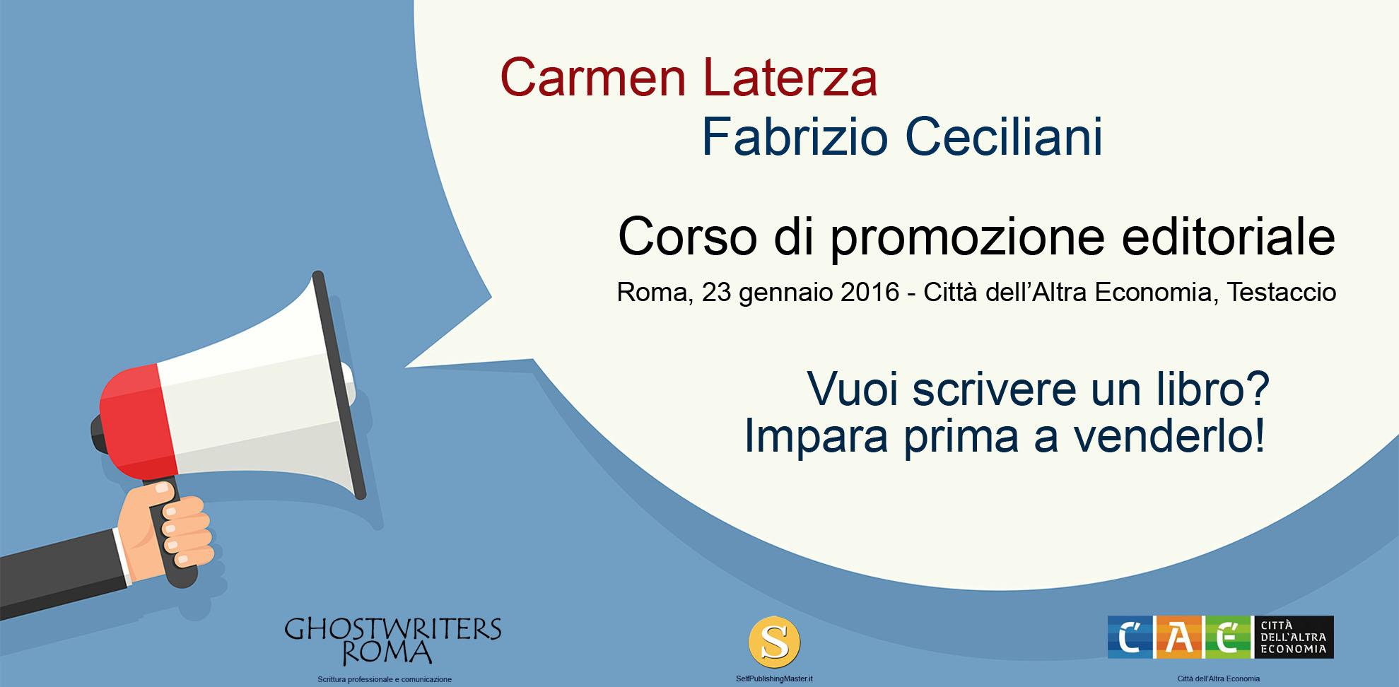 Corso di promozione editoriale for Corso di arredatore d interni roma